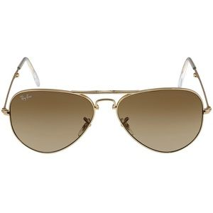 Ray-Ban RB3479 Foldable Aviator Gold Sunglasses